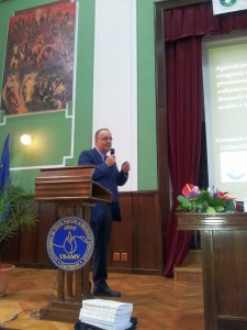 Dr Carlo Blasi as invited speaker in plenary session of UASVM symposium Sept 29 2011