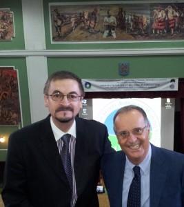 Dr Radu E Sestras and Dr Carlo Blasi UASVM Symp2012