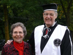 Ms Shirley Janick and Professor Jules Janick after DHC ceremony